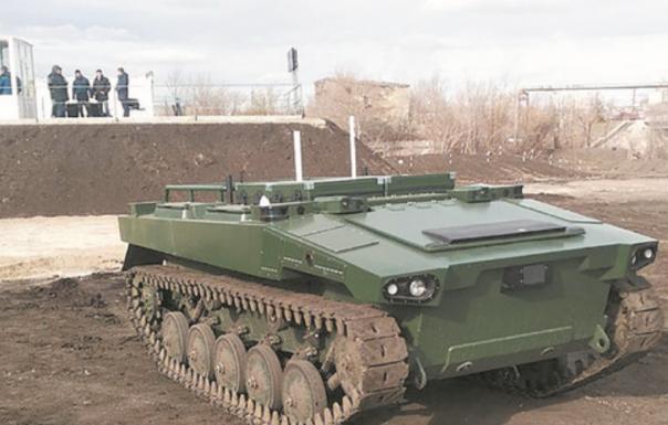 俄罗斯计划采用多功能机器人部队来代替人类士兵
