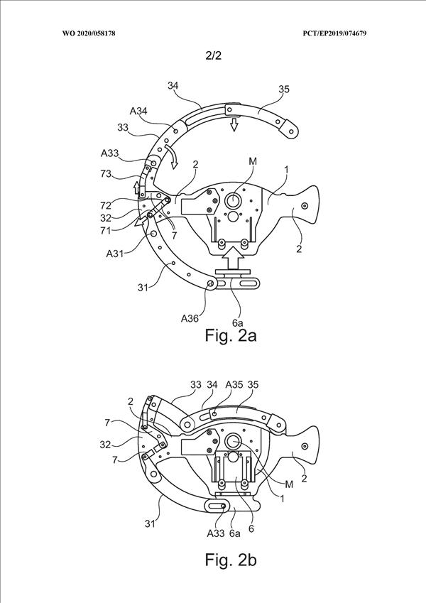 宝马自动驾驶车辆的折叠式方向盘专利