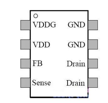 PR6228T引腳圖_PR6228T典型應用電路