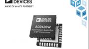 贸泽电子备货Analog Devices AD242x汽车音频总线收发器