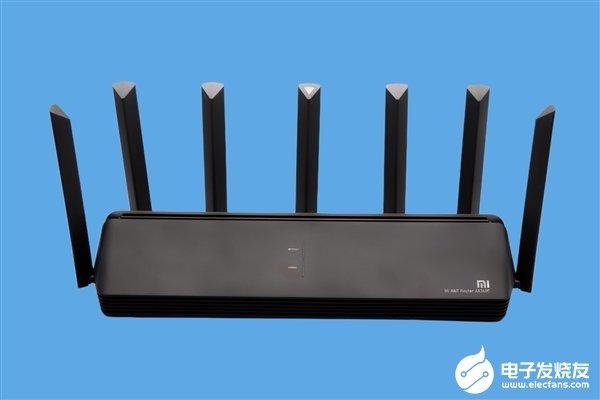 小米AIoT路由器AX3600开启全款预售 定价599元