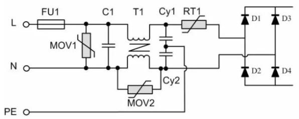 浅谈开关电源EMC外围电路常用元器件