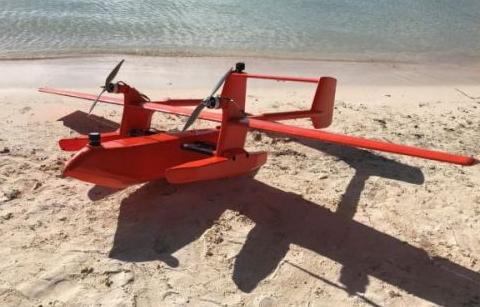 如何将FT205超声波风传感器集成到固定翼无人机中去
