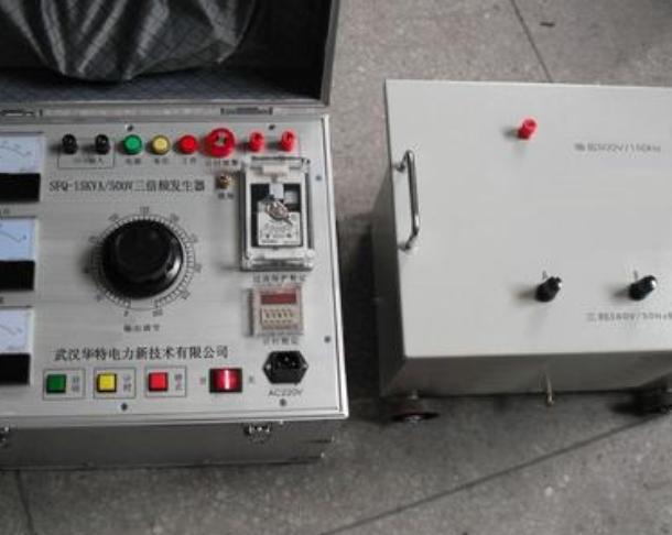 感应耐压试验装置的技术参数及使用技巧