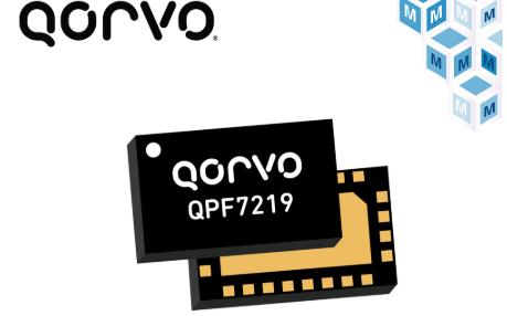 Qorvo QPF7219 Wi-Fi集成前端在貿澤開售  集成edgeBoost功能以擴大Wi-Fi 6覆蓋范圍