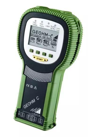 德國GMC超便攜、堅固耐用的接地電阻測試儀Geo...