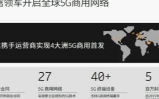 赵钧陶:爱立信开启全球5G商用网络,已斩获86个...