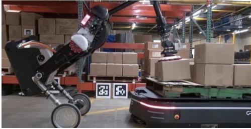 波士頓動力與OTTO Motors合作采用人形機器人Atlas實現了運輸無人化