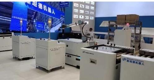 斯坦德机器人为客户提供了一整套柔性物流解决方案