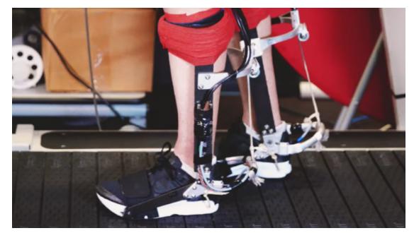 全新电动外骨骼提高10%的跑步速度
