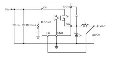 PCB板布局之輸入電容器和二極管的配置