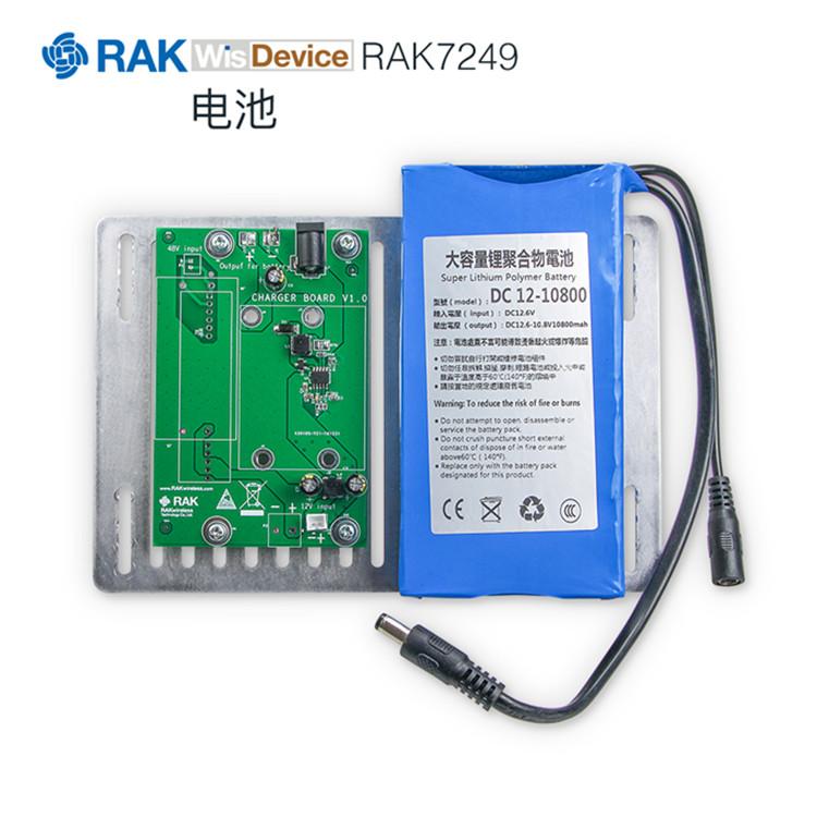 室外型LoRa網關RAK7249僅工作于LTE和LoRa(8通道和16通道)時的平均功耗是多少?