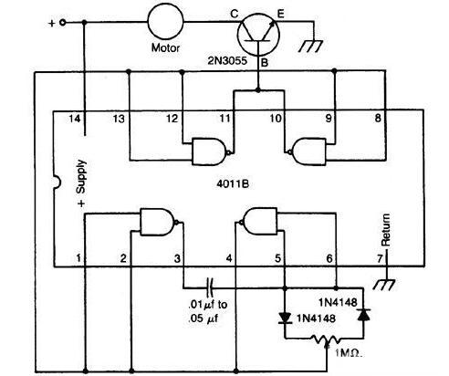 兩(liang)款直流馬(ma)達速度控制電路圖解析