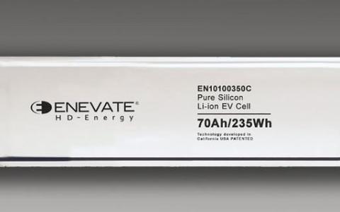 Enevate硅阳极电池,为EV带来超快安全充电...