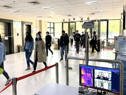 中兴通讯在南京滨江工厂园区成功部署了5G+AI测...