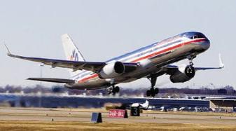 美��航空����⑼艘鄱嗉懿徊怀赏�型�的老�f�w�C