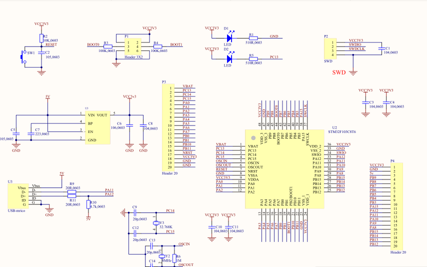 STM32F103系列单片机的详细资料合集