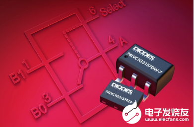 Diodes推出新型模拟SPDT开关,可用于音频产品中的信号复用