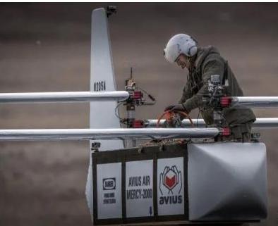 AVIUS Air Delivery公司推出了一种一次性自主货物运输滑翔机