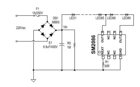 74HC595串入并出芯片应用的仿真电路图免费下载