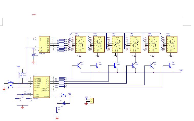 使用單片機實現LED電子時鐘的設計與制作