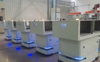 AGV纤维自动化物流系统的特点及应用