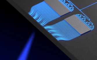 哥伦比亚大学最新研究出了芯片级蓝光OPA