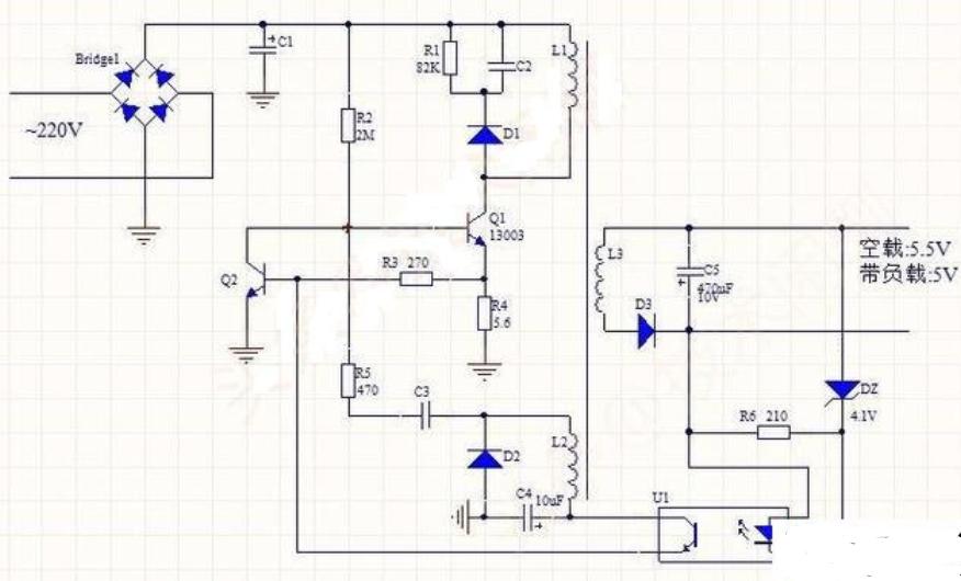 手机充电器维修电路原理