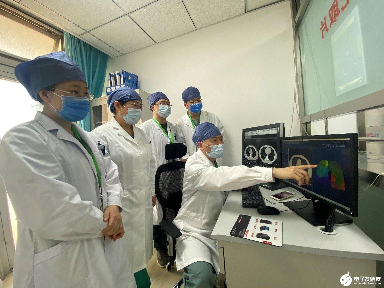 放射AI辅助诊断系统进驻小汤山医院