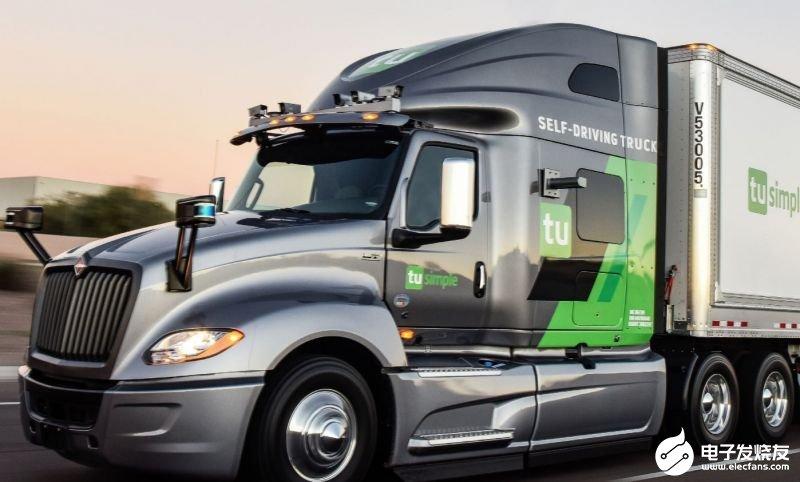 图森未来与采埃孚合作实现自动驾驶车辆技术的商业化