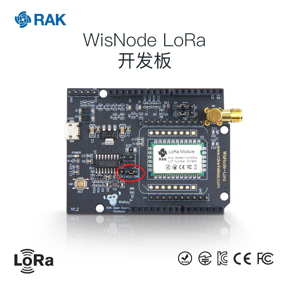 LoRa开发板升级的时候,为什么需要修改跳线帽?