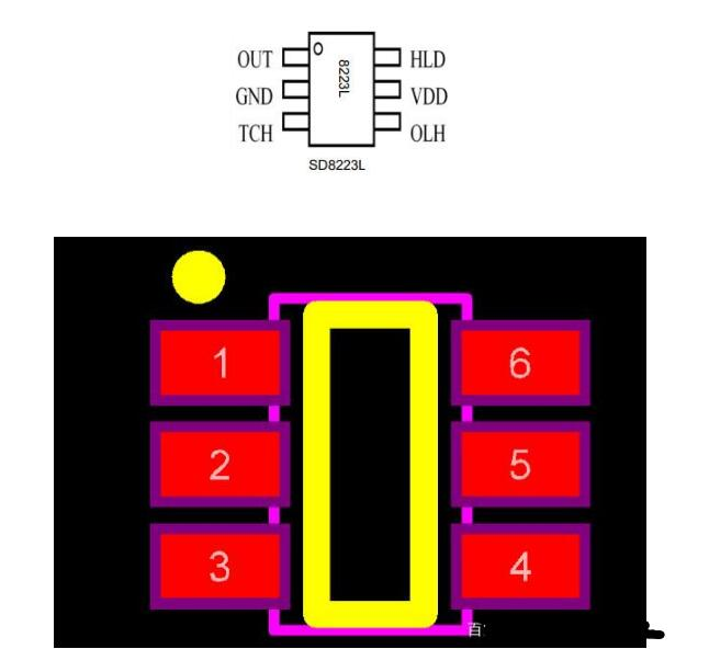 SD8223L芯片主要特点_简单的SD8223L...