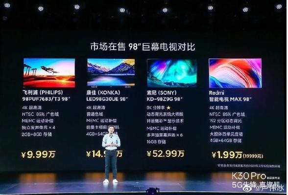 華為智慧屏未來將會推出比75英寸更大的智慧屏