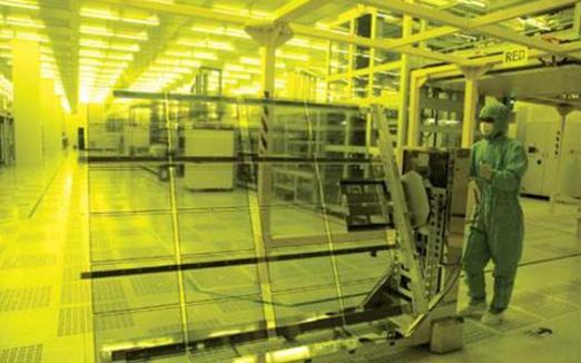 中國在先進面板技術上對韓國企業發起挑戰
