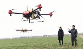 日本正在采用无人机来推行智慧农业计划