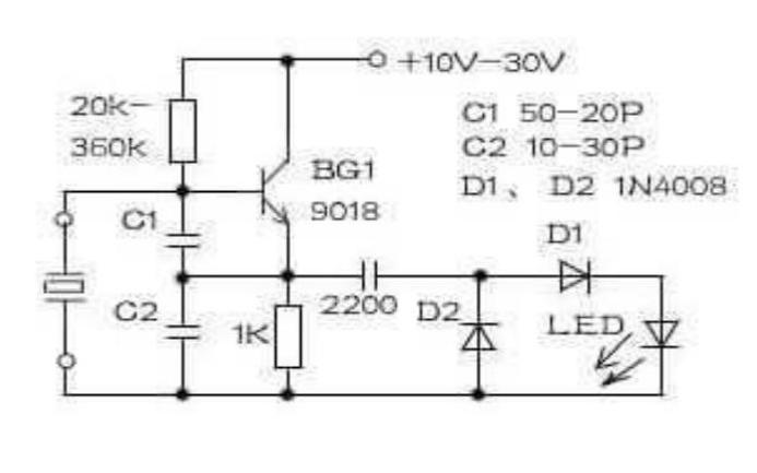 晶振的测试电路详细资料说明