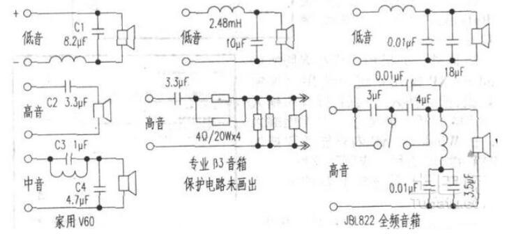 音箱分频器的维修方法_音箱分频器怎么接喇叭