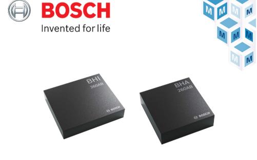 贸泽电子开售Bosch Sensortec新一代...