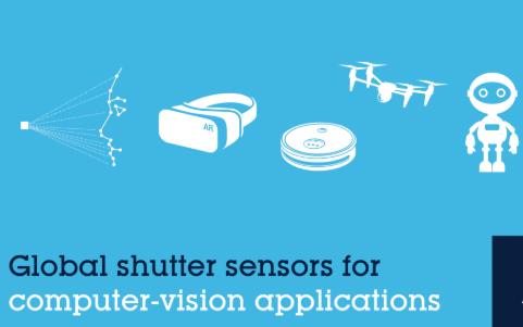 意法半导体借助高性能全局快门图像传感器实现下一代智能计算机视觉应用
