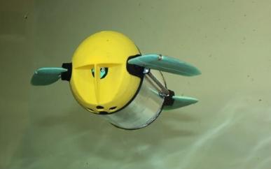 水产检查遥控机器人对鱼类更友好