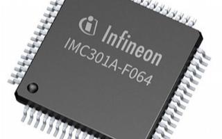 电机控制芯片iMOTION? IMC300,助力实现最大灵活性