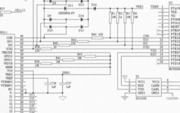 LTC6802与MCU连接器的电路设计解析