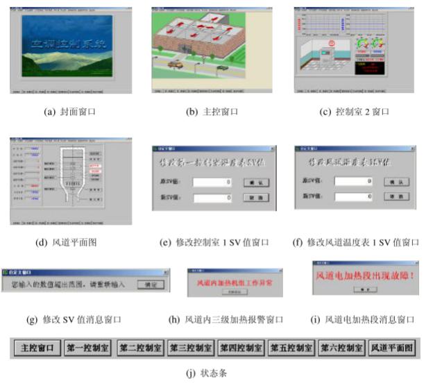 通过CAN-bus总线对室内空调的温/湿度模拟系统进行控制