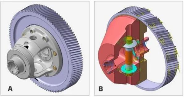 一种适用于电驱动动力总成零部件的3D打印合金钢材