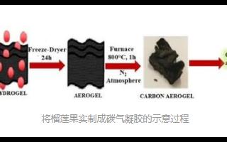 研究表明榴莲是纯天然更经济的超级电容材料