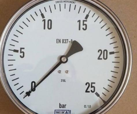 不銹鋼壓力表的安裝注意事項