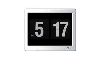 Fliqlo桌面时钟软件应用程序免费下载