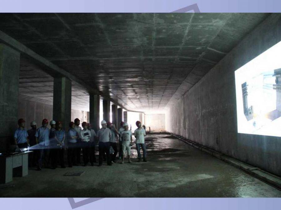 先进的三维激光扫描技术在地铁建设中的作用地铁大空...