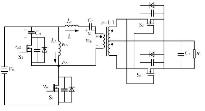 同步整流和反激電路結構的基本電路結構