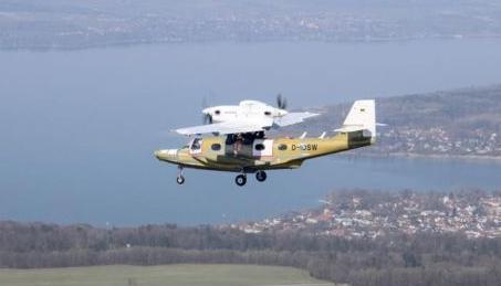 道尼爾公司的新一代海星水陸兩棲飛機已成功首飛